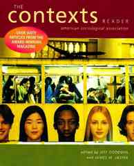The Contexts Reader 1st edition 9780393929898 0393929892
