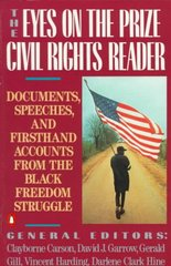 The Eyes on the Prize Civil Rights Reader 0 9780140154030 0140154035