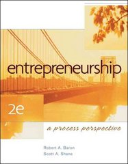 Entrepreneurship 2nd edition 9780324365580 0324365586