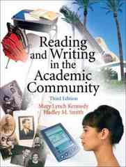 Reading and Writing in the Academic Community 3rd edition 9780131931336 0131931334