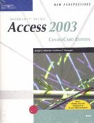 New Perspectives on Microsoft Office Access 2003, Brief, CourseCard Edition 1st edition 9781418839079 1418839078