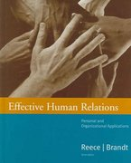Effective Human Relations 9th edition 9780618345878 0618345876