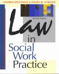 Law in Social Work Practice 2nd Edition 9780830415175 0830415173