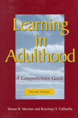 Learning in Adulthood 2nd Edition 9780787910433 0787910430