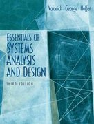 Essentials of System Analysis and Design 3rd edition 9780131854628 0131854623