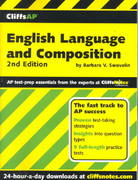 CliffsAP English Language and Composition 2nd edition 9780764586859 0764586858