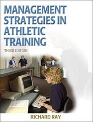 Management Strategies in Athletic Training 3rd edition 9780736051378 0736051376