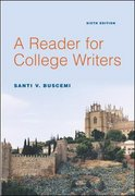 A Reader for College Writers 6th edition 9780072885545 0072885548