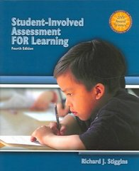 Student-Involved Assessment for Learning 4th edition 9780131183490 0131183494