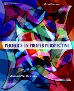 Phonics in Proper Perspective 10th Edition 9780131177987 0131177982