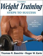 Weight Training 3rd Edition 9780736055338 0736055339