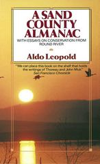 Sand County Almanac 1st Edition 9780345345059 0345345053