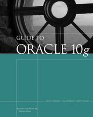 Guide to Oracle 10g 5th edition 9780619216290 0619216298