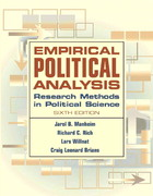 Empirical Political Analysis 6th Edition 9780321298607 0321298608