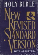 The New Revised Standard Version Bible with Apocrypha 0 9780195283808 0195283805