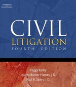 Civil Litigation 4th edition 9781401848293 140184829X