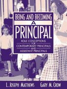 Being and Becoming a Principal 1st edition 9780321080608 0321080602
