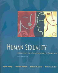 Human Sexuality: Diversity in Contemporary America with SexSource CD-ROM and PowerWeb 5th edition 9780072974904 0072974907