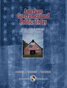 American Government and Politics Today 11th edition 9780534620820 0534620825