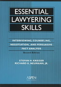 Essential Lawyering Skills 2nd edition 9780735528062 0735528063