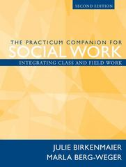The Practicum Companion for Social Work 2nd Edition 9780205474820 0205474829