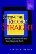 Setting the Record Straight 2nd edition 9780325005942 032500594X