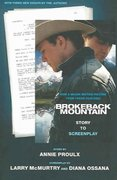 Brokeback Mountain: Story to Screenplay 1st Edition 9780743294164 0743294165