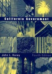 California Government 4th edition 9780618452347 0618452346