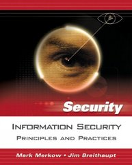 Information Security 1st edition 9780131547292 0131547291