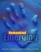 Humankind Emerging 9th edition 9780205423804 0205423809