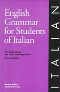 English Grammar for Students of Italian, 2nd Edition 2nd edition 9780934034203 0934034206