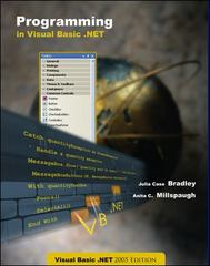 Programming in Visual Basic.NET 1st Edition 9780072262155 007226215X