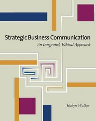 Strategic Business Communication 1st edition 9780324300819 0324300816