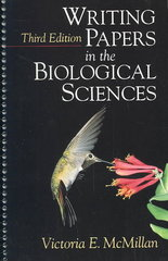Writing Papers in the Biological Sciences 3rd Edition 9780312258573 0312258577
