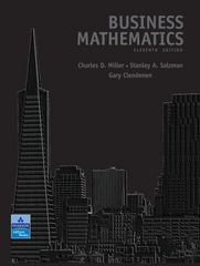 Business Mathematics 11th edition 9780321500120 0321500121