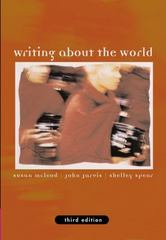 Writing about the World (with InfoTrac) 3rd Edition 9781413002386 1413002382