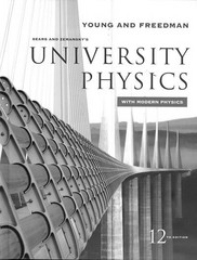 University Physics with Modern Physics 12th edition 9780321501219 0321501217