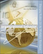 Organizational Behavior 3rd Edition 9780072976861 0072976861
