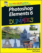 Photoshop Elements 6 For Dummies 1st edition 9780470192382 0470192380