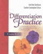 Differentiation in Practice 1st Edition 9780871207609 0871207605