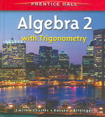 Algebra 2 with Trigonometry 1st Edition 9780131337985 013133798X