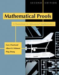 Mathematical Proofs 2nd edition 9780321390530 0321390539