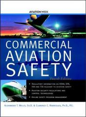 Commercial Aviation Safety 4th edition 9780071417426 0071417427