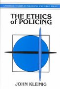 The Ethics of Policing 0 9780521484336 0521484332