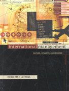 International Management 5th edition 9780072564303 007256430X