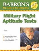 Barron's Military Flight Aptitude Tests 0 9780764135170 0764135171