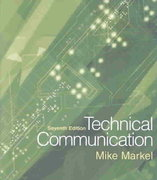 Technical Communication 7th edition 9780312403386 0312403380