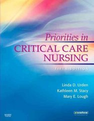 Priorities in Critical Care Nursing 5th Edition 9780323052597 0323052592