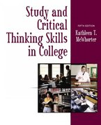 Study and Critical Thinking Skills in College 5th edition 9780321089236 0321089235