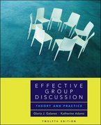 Effective Group Discussion 12th edition 9780073135236 0073135232